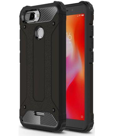 Xiaomi Redmi 6 Hybride Hoesje Zwart Hoesjes