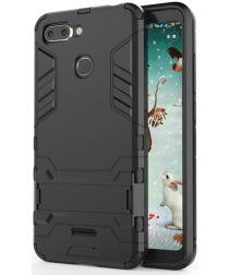 Xiaomi Redmi 6 Hybride Hoesje met Standaard Zwart