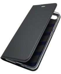 Xiaomi Redmi 6 Stijlvol Portemonnee Hoesje Zwart