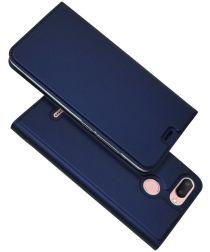 Xiaomi Redmi 6 Stijlvol Portemonnee Hoesje Blauw