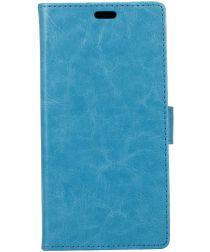 Alcatel 1 Portemonnee Hoesje Blauw
