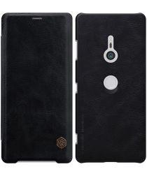 Nillkin Qin Series Flip Hoesje Sony Xperia XZ3 Zwart