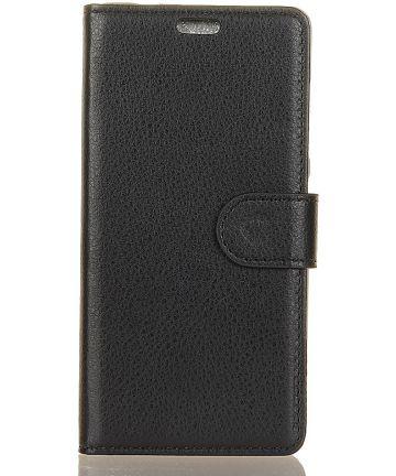 Huawei Mate 20 Hoesje met Kaarthouder Zwart Hoesjes