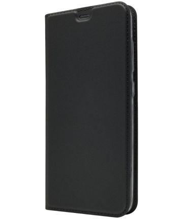 Xiaomi PocoPhone F1 Luxe Hoesje met Kaarthouder Zwart Hoesjes