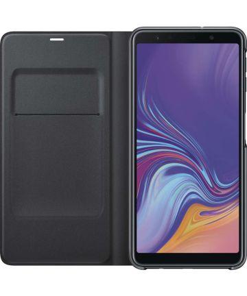 Samsung Galaxy A7 2018 Portemonnee Hoesje Zwart Hoesjes