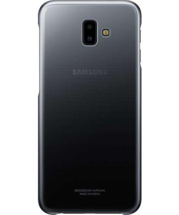 Samsung Galaxy J6 Plus Gradation Clear Cover Zwart