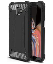 Samsung Galaxy J6 Plus Hybride Hoesje Zwart