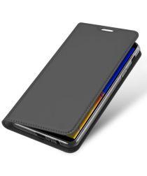 Samsung Galaxy J4 Plus (2018) Dux Ducis Portemonnee Hoesje Grijs