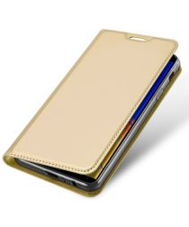 Samsung Galaxy J4 Plus (2018) Dux Ducis Portemonnee Hoesje Goud