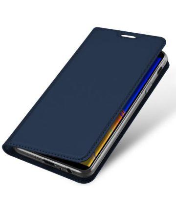 Samsung Galaxy J4 Plus (2018) Dux Ducis Portemonnee Hoesje Blauw Hoesjes
