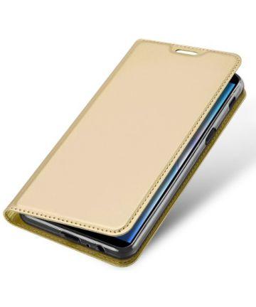Samsung Galaxy J6 Plus (2018) Dux Ducis Portemonnee Hoesje Goud