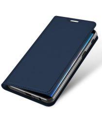 Samsung Galaxy J6 Plus (2018) Dux Ducis Portemonnee Hoesje Blauw