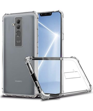 Huawei Mate 20 Lite Schokbestendig TPU Hoesje Transparant Hoesjes