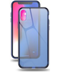 Dux Ducis Light Transparant TPU Hoesje Apple iPhone XS Blauw
