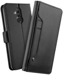 Huawei Mate 20 Lite Cover met Spiegel Zwart