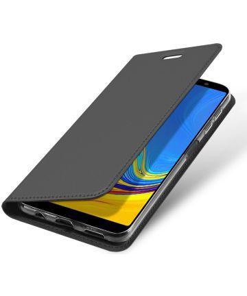 Dux Ducis Premium Book Case Samsung Galaxy A7 2018 Hoesje Grijs Hoesjes