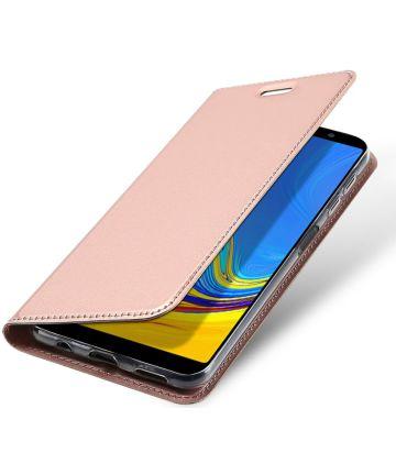 Dux Ducis Premium Book Case Samsung Galaxy A7 2018 Hoesje Roze