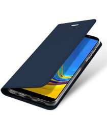 Dux Ducis Premium Book Case Samsung Galaxy A7 2018 Hoesje Blauw