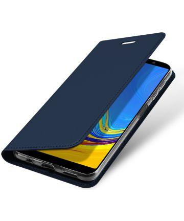 Dux Ducis Premium Book Case Samsung Galaxy A7 2018 Hoesje Blauw Hoesjes