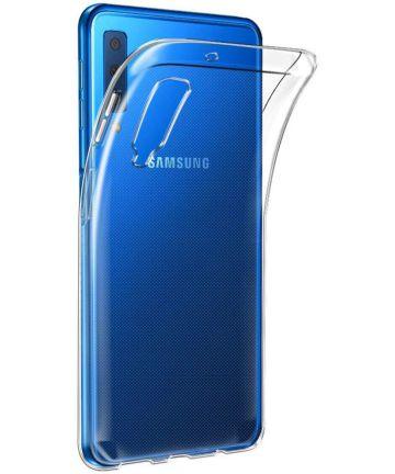 Samsung Galaxy A7 2018 Transparant Hoesje Hoesjes