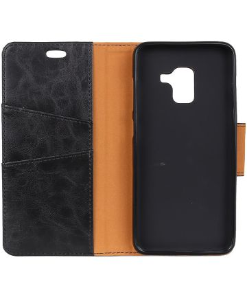 Samsung Galaxy J6 Plus Wallet Case Zwart