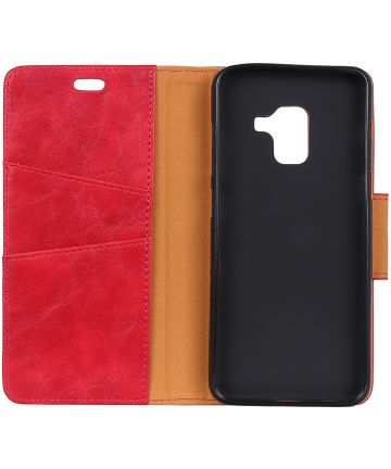 Samsung Galaxy J6 Plus Wallet Case Rood