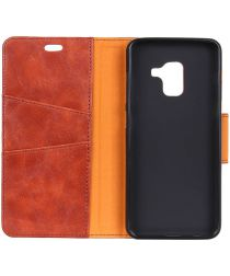 Samsung Galaxy J6 Plus Wallet Case Bruin