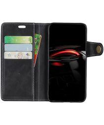 Samsung Galaxy A7 (2018) Wallet Case Zwart