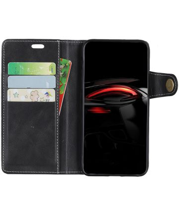 Samsung Galaxy A7 (2018) Wallet Case Zwart