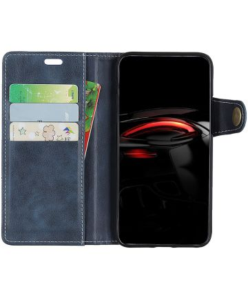 Samsung Galaxy A7 (2018) Wallet Case Blauw