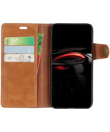 Samsung Galaxy A7 (2018) Wallet Case Bruin Hoesjes