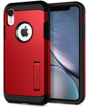 Spigen Tough Armor Case Apple iPhone XR Red Hoesjes