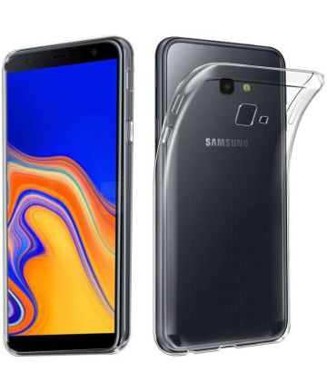 Samsung Galaxy J4 Plus Hoesje Dun TPU Transparant Hoesjes