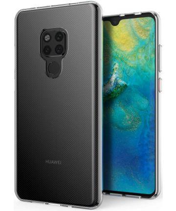 Huawei Mate 20 Hoesje Dun TPU Transparant Hoesjes
