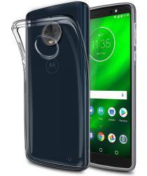 Originele Motorola Moto G6 Plus Back Cover Transparant