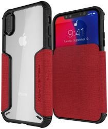 Ghostek Exec 3 Apple iPhone XS Rood