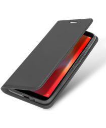 Xiaomi Redmi 6A Dux Ducis Portemonnee Hoesje Grijs