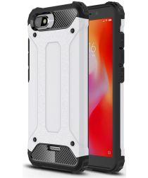 Xiaomi Redmi 6A Hybride TPU Hoesje Wit