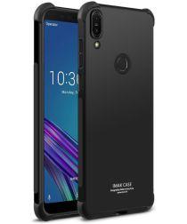 Asus Zenfone Max Pro IMAK Hardcase Hoesje Zwart