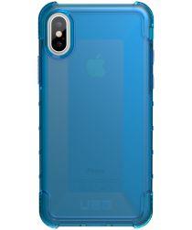 Urban Armor Gear Plyo Hoesje Apple iPhone XS/X Blauw