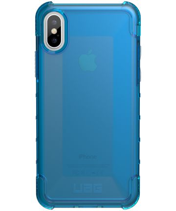 Urban Armor Gear Plyo Hoesje Apple iPhone XS/X Blauw Hoesjes