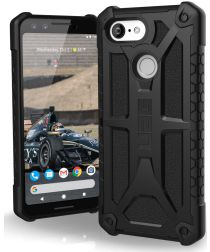 Urban Armor Gear Monarch Hoesje Google Pixel 3 Midnight