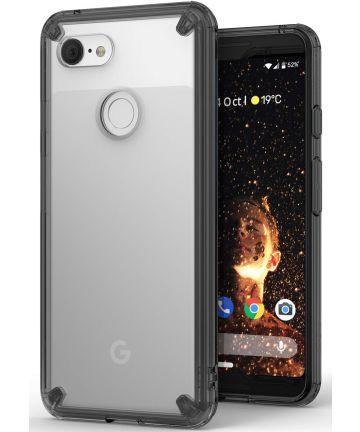 Ringke Fusion Google Pixel 3 Hoesje Doorzichtig Smoke Black Hoesjes