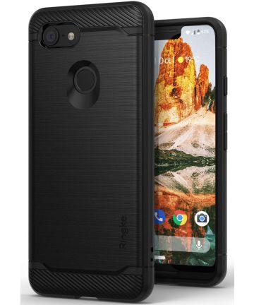 Ringke Onyx Google Pixel 3 XL Hoesje Zwart Hoesjes