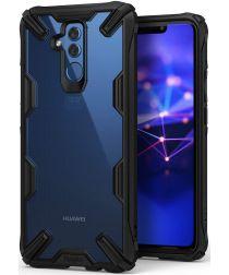 Ringke Fusion X Huawei Mate 20 Lite Hoesje Doorzichtig Zwart