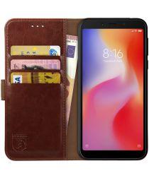 Rosso Element Xiaomi Redmi 6A Hoesje Book Cover Bruin