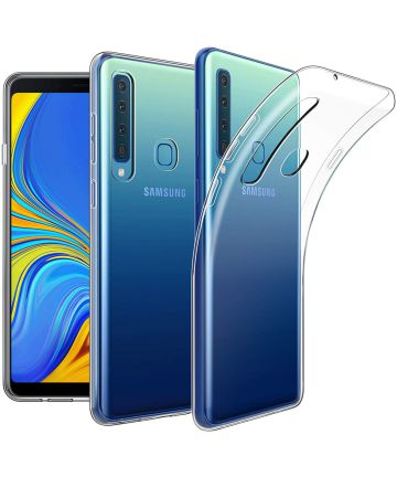 Samsung Galaxy A9 (2018) Hoesje Dun TPU Transparant