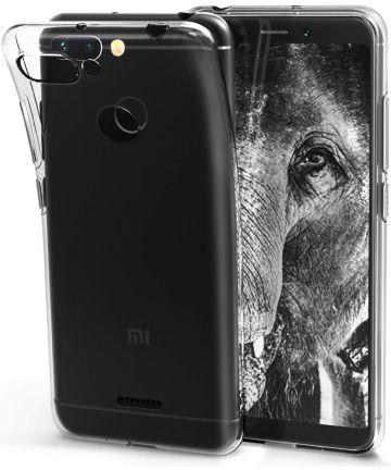 Xiaomi Redmi 6 Hoesje Dun TPU Transparant Hoesjes