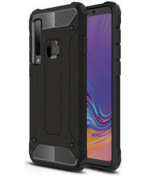 Samsung Galaxy A9 (2018) Hybride Hoesje Zwart