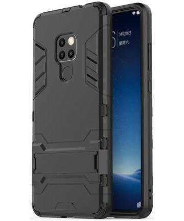 Huawei Mate 20 Hybride Kickstand Hoesje Zwart